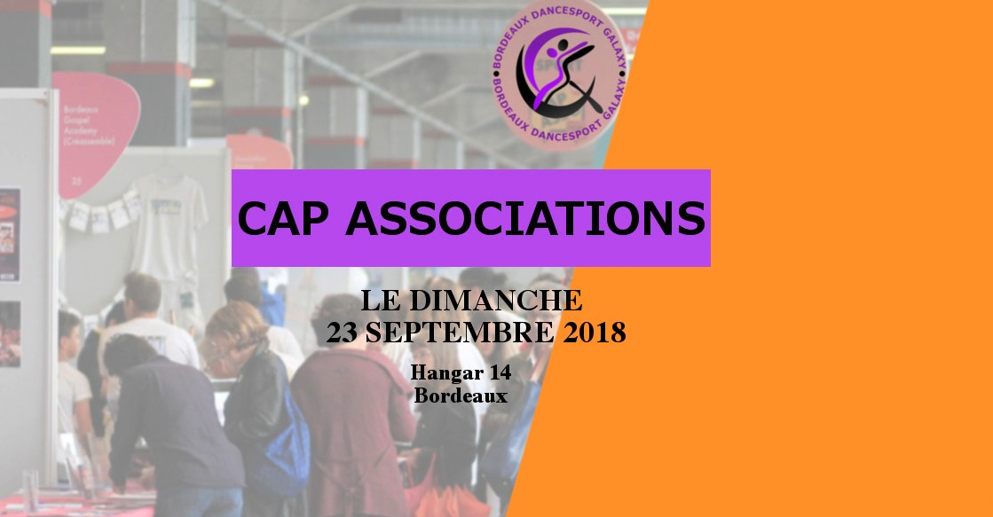 danse sportive, danse de salon, cap association