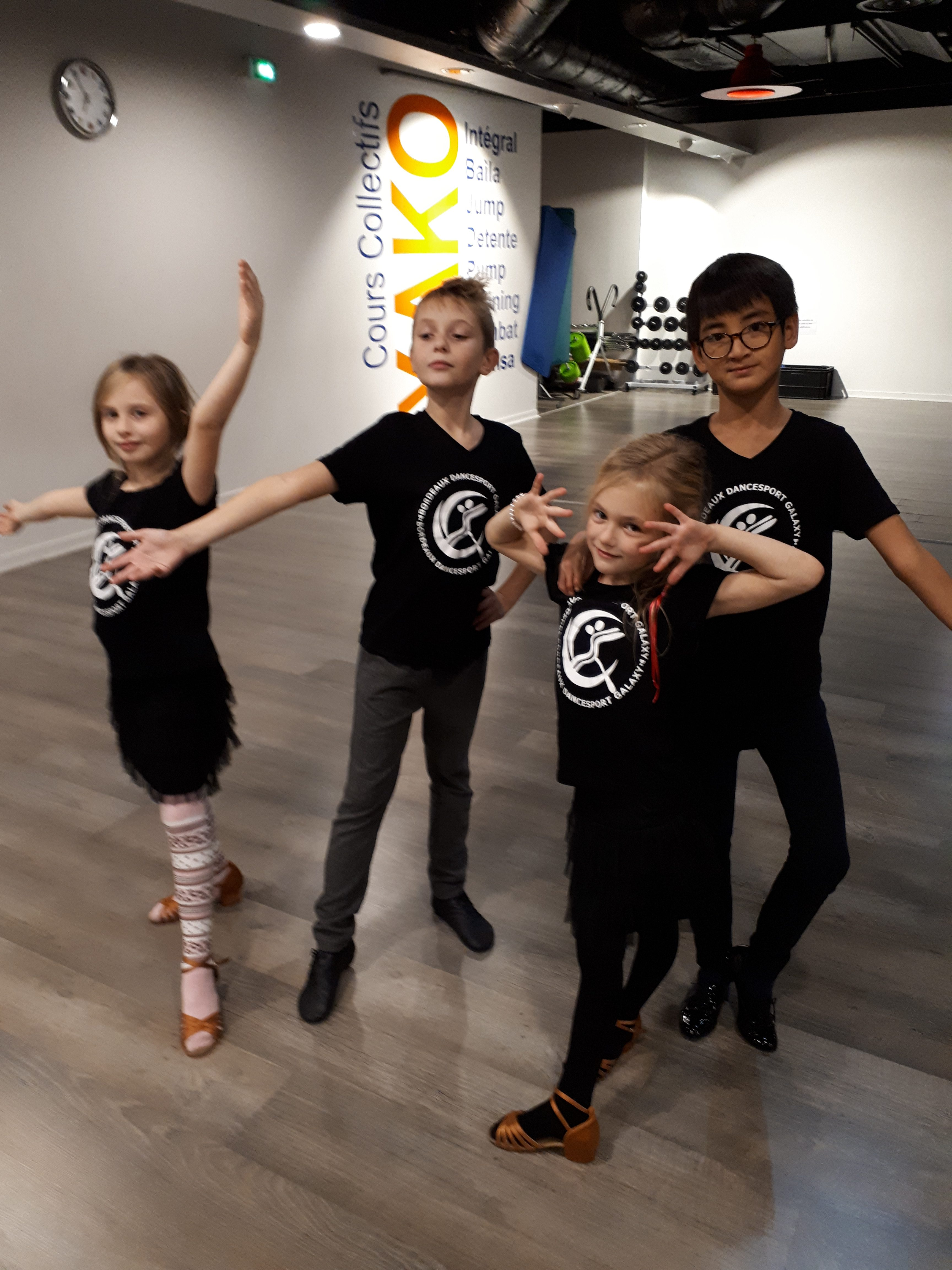Danse de salon pour les enfants